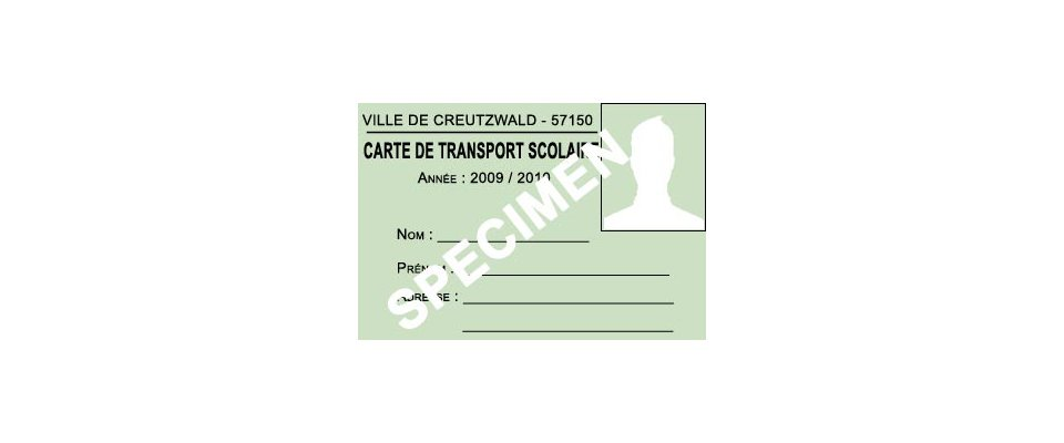 Information transport scolaire